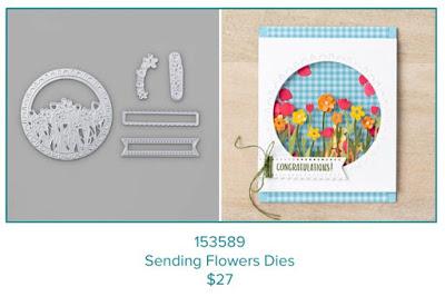Sending Flowrs Dies 153589