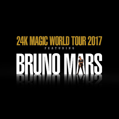 Noticias que suenan Rock Pop Bruno Mars 24K Magic World Tour 2017