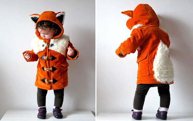 Children's-coat-fox