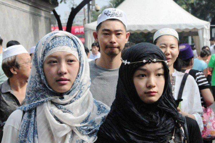 wanita muslimah uighur cantik cantik