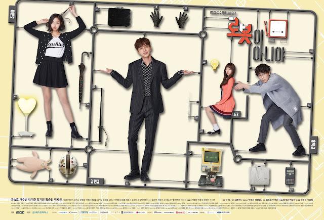 DRAMA KOREA : I'M NOT A ROBOT - YOO SEUNG HO, CHAE SOO BIN