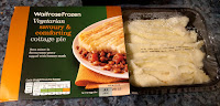 Waitrose vegetarian cottage pie