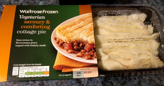 Diets And Calories Waitrose Vegetarian Cottage Pie Review