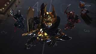 Garo The One Who Shines in the Darkness Zen Gai Makai Knights