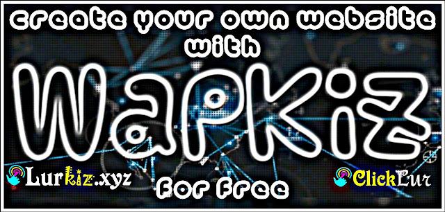 কিভাবে বিনামূল্যে ওয়েবসাইট তৈরি করবেন wapkiz.com এর মাধ্যমে