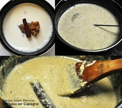 recette verrines dessert creme noix