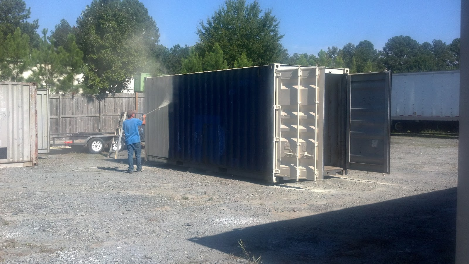 Painting A Used Shipping Container A How To Guide
