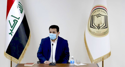 مستشار الأمن القومي قاسم الاعرجي يتوجه إلى دولة فلسطين