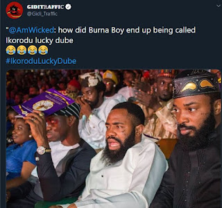 Lol!! Nigerians blast Burna Boy on social media, calls him Ikorodu Lucky Dube — Do you think he deserves it