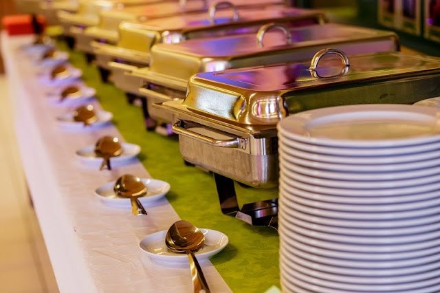 buffet service in style