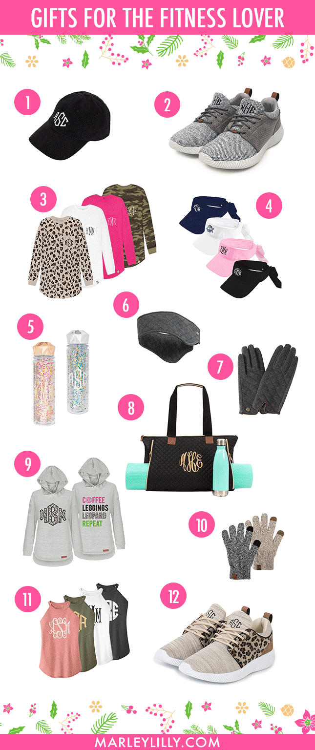 gift guide for athletic apparel