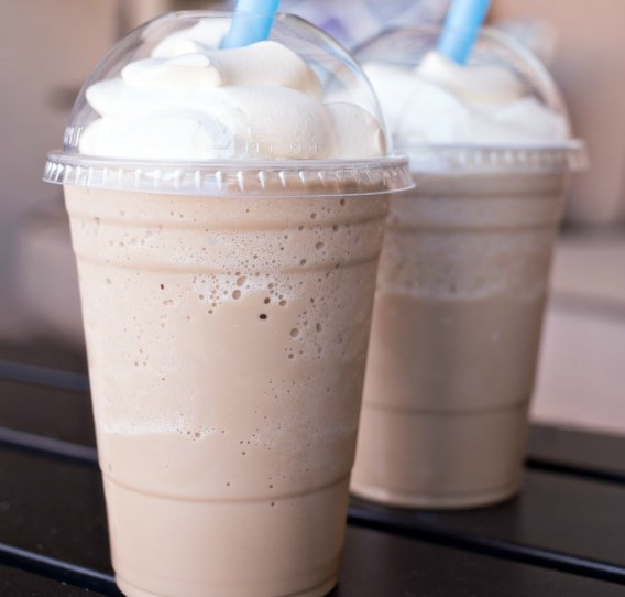 Homemade Frosted Coffee #drinks #summerdrink