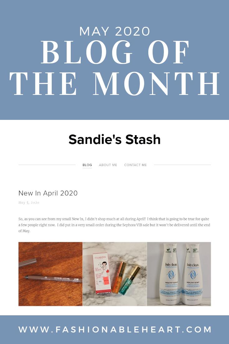 bblogger, bbloggers, bbloggerca, bbloggersca, canadian beauty bloggers, beauty blog, featured blogger, blog of the month, sandie's stash