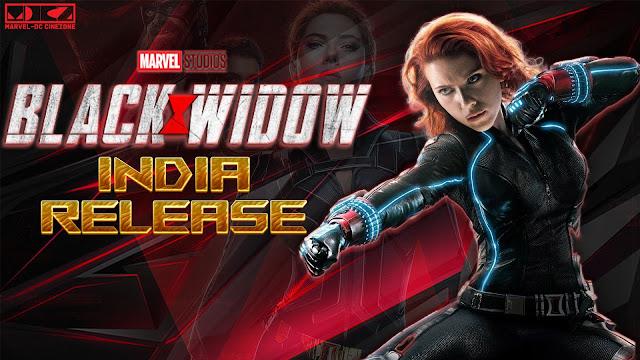 Black Widow Movie Release in India