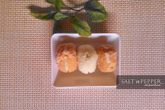Dessert: Malai Chop The Bengali Sandwich.