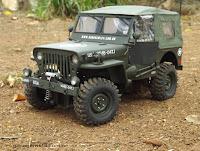 Bolha / Carroceria / Body Jeep 1/10 handmade artesanal