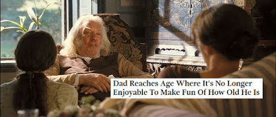 Meme - Mr Bennet's Age