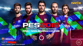 PES Mobile 2018 Original v3.8 by Minimumpatch Apk + Obb