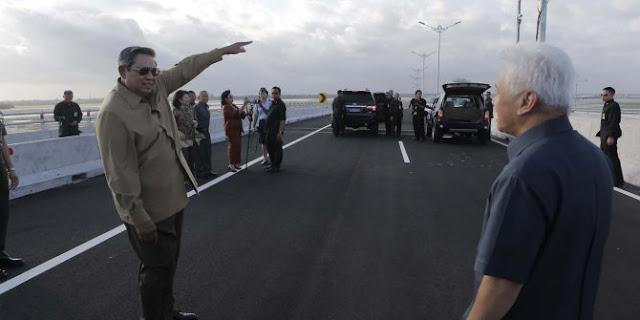 Presiden Susilo Bambang Yudhoyono bangun jalan non tol 4.770KM