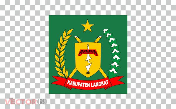 Kabupaten Langkat Logo - Download Vector File PNG (Portable Network Graphics)