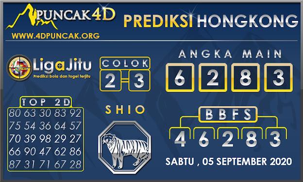 PREDIKSI TOGEL HONGKONG PUNCAK4D 05 SEPTEMBER 2020