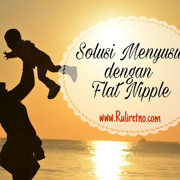 Dilema menyusui untuk flat nipple