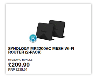 New Synology Mesh router