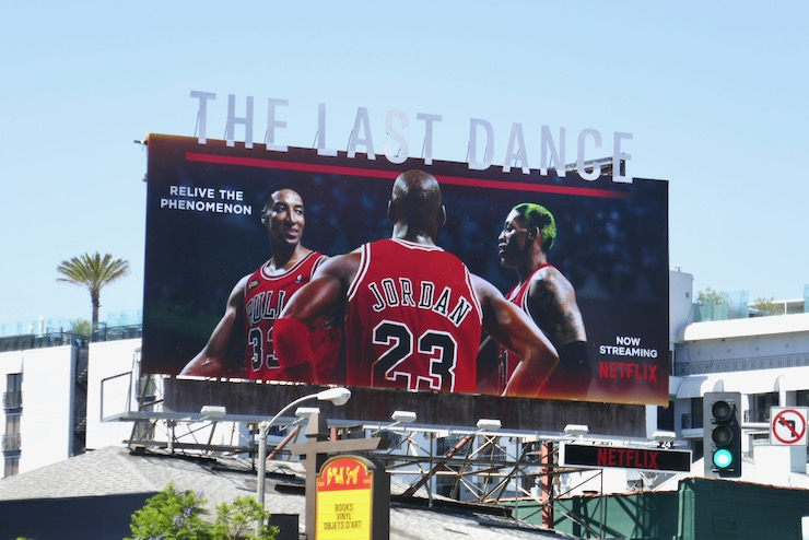 Last Dance docuseries billboard