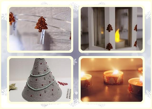 DIY  ozdoby świąteczne którymi nie zagracisz domu