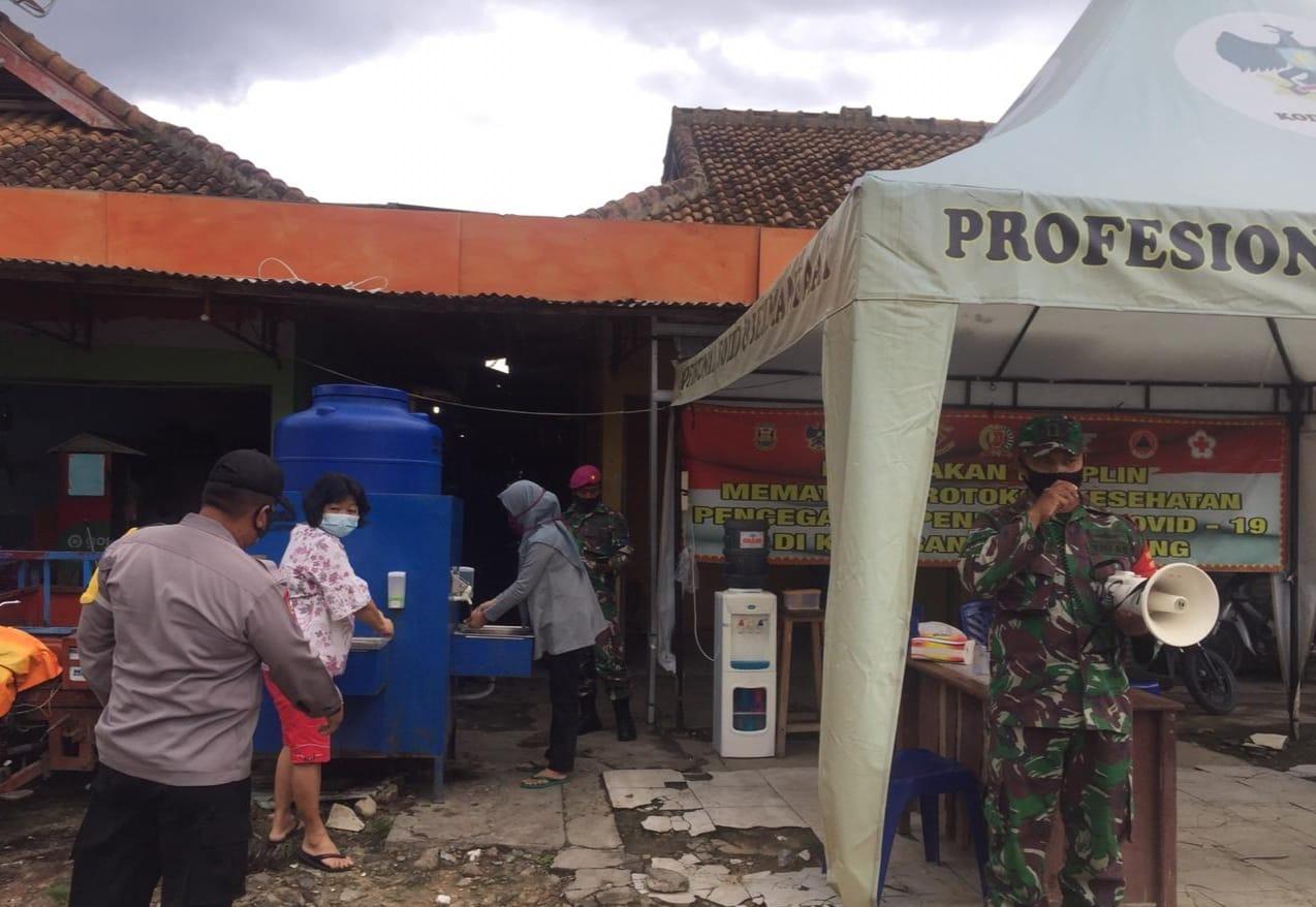 Upaya untuk mencegah penyebaran virus Corona terus dilakukan oleh Kodim 0410/KBL bersama Satgas penanganan Covid-19 Kota Bandar Lampung