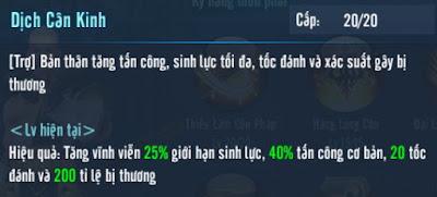 Kỹ năng 80 phái Thiếu Lâm