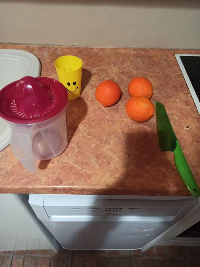 Χυμος πορτοκαλι ευκολα και γρηγορα