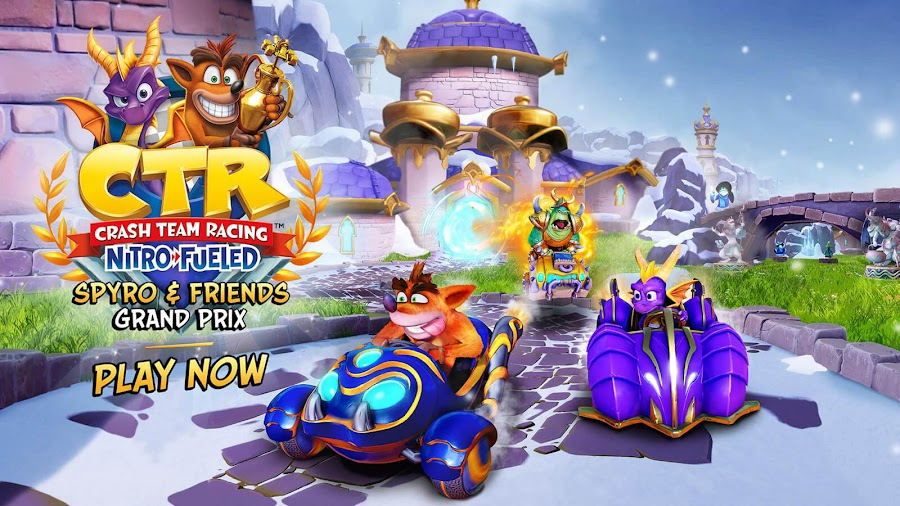 crash team racing nitro-fueled grand prix event spyro n friends ps4 switch xbox