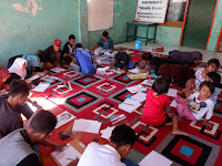 Ngabuburit Sambil Melukis Menggunakan Ampas Kopi Bersama Forum Anak Kecamatan Panjang