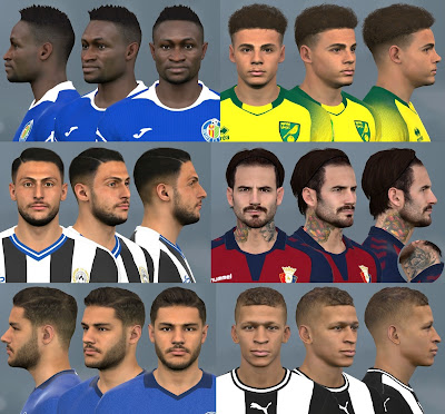 PES 2017 Facepack July 2020 by WER