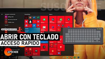 abrir programas con teclado