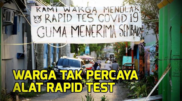 Rapid Test Jadi Ladang Bisnis, Publik Murka: Semoga Dilaknat Dunia Akhirat