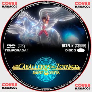 CABALLEROS DEL ZODIACOS SAINT SEIYA 2019 [COVER - SERIES - DVD]