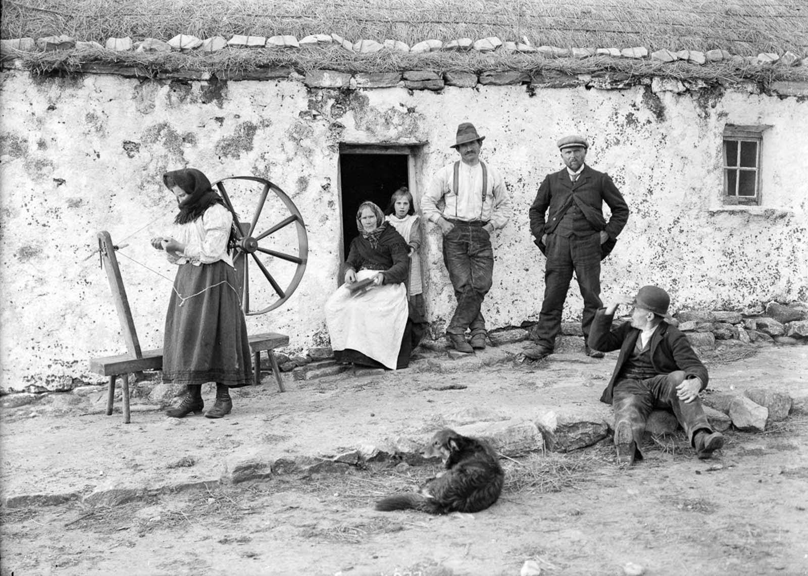 Ireland, 1900.