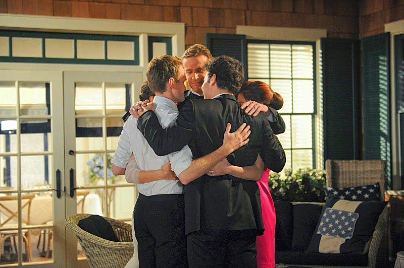 HIMYM cast members say goodbye in series finale