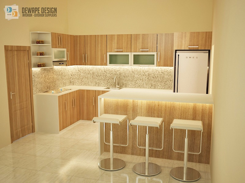 Jual kithcen set malang kitchen set modern minimalis kota for Harga kitchen set minimalis per meter