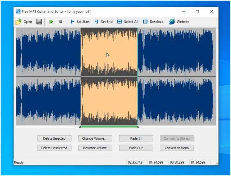 Free MP3 Cutter and Editor : Εξαιρετικά απλό και εύχρηστο λογισμικό για την  επεξεργασία και περικοπή αρχείων mp3