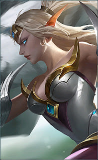 Irithel Silver Cyclone Heroes Marksman of Skins V1