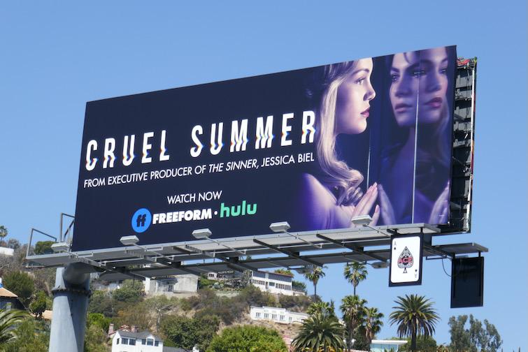 Olivia Holt Cruel Summer billboard