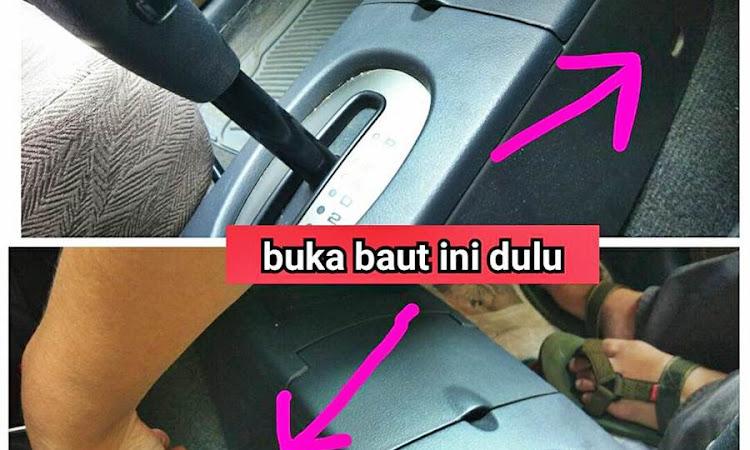 Auto DIY : Perseneling Suzuki Aerio Bermasalah? Ini Caranya