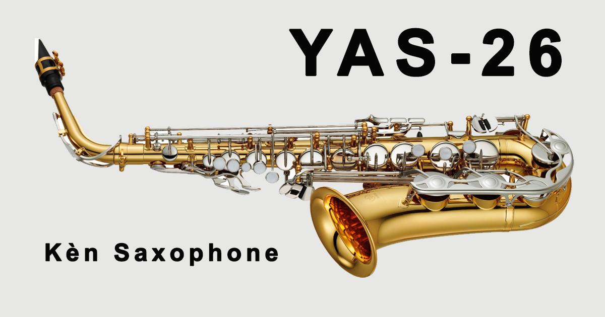 Kèn saxophone alto yamaha yas 26