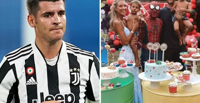 Morata forced to sleep at hotel after wife locks him out of house