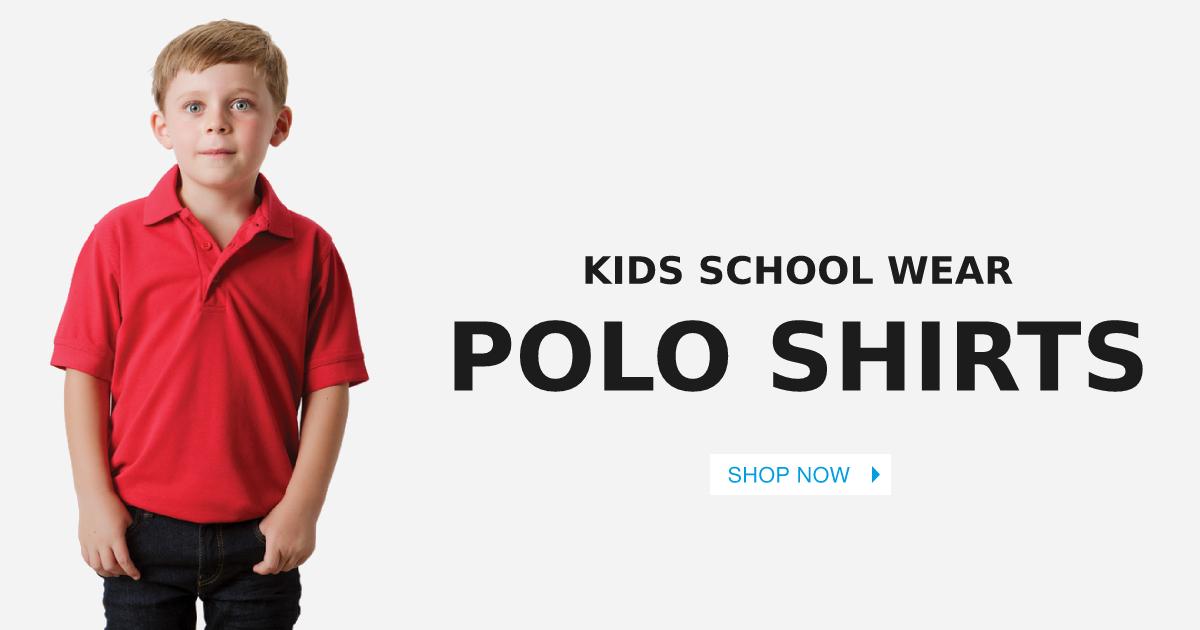 Kids School Polo Shirts
