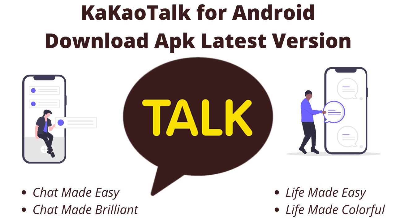 KaKaoTalk for Android Download Apk Latest Version