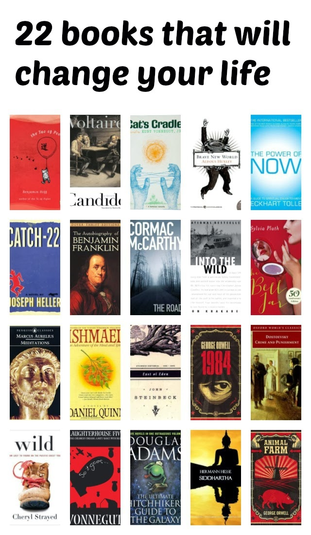 22 books that will change your life